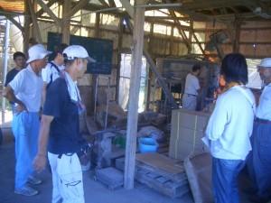 2010年高知鶏舎見学